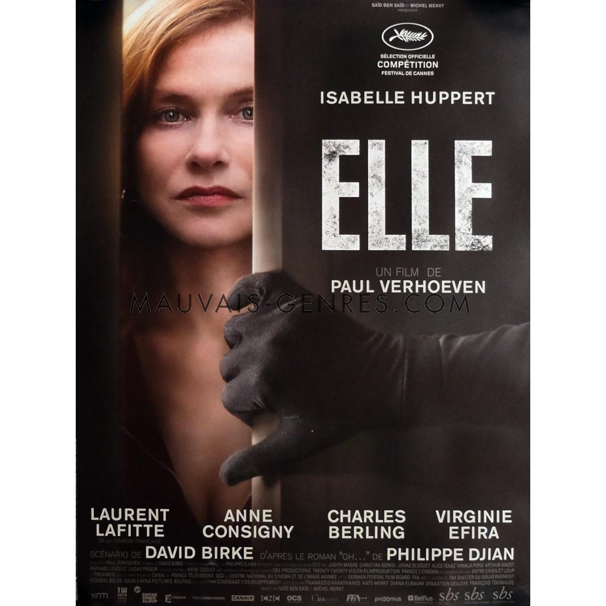 ELLE ( França, Alemanha, Bélgica, 2016)