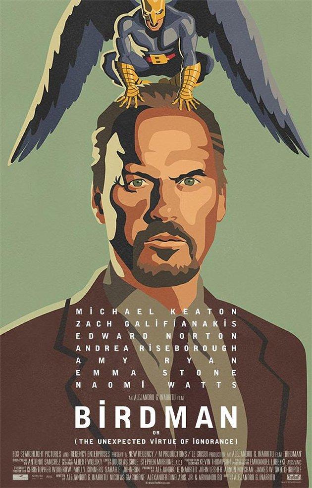 Birdman ou (A Inesperada Virtude da Ignorância) (EUA - 2014)